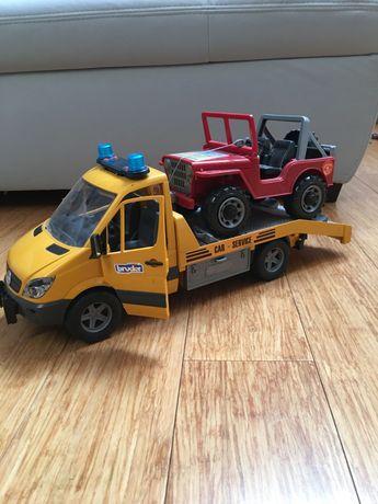 Bruder Mercedes - pomoc drogowa
