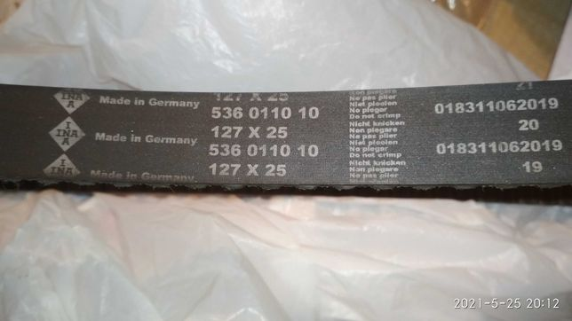 Ремень ГРМ INA™ 536011010 для Aveo, Lacetti, Cruze, Lanos 1.4-1.6L