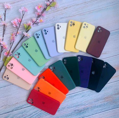 Silicone Case Original Full +Camera на iphone 11-11 pro max