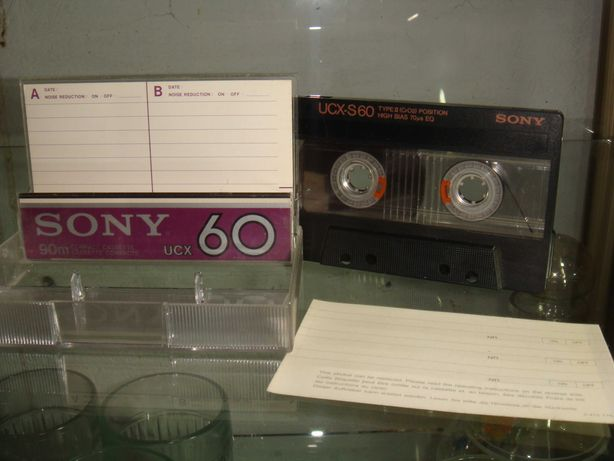 Kaseta magnetofonowa SONY UCX-S60 super stan