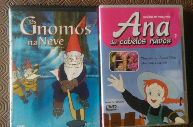DVDs para crianças