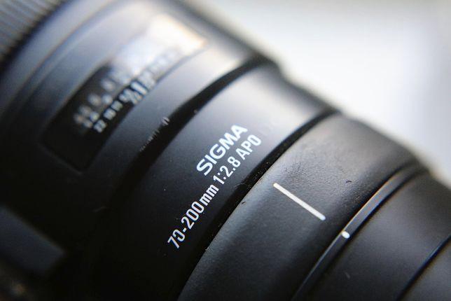 Obiektyw Sigma 70-200 2.8 APO EX DG OS mocowanie CANON