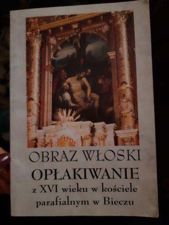 Książka Obraz Włoski Opłakiwanie