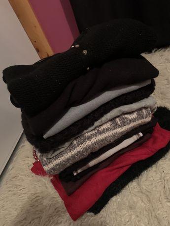 Zestaw 12 swetrów Lee Reserved Big Star Chanel alpaka roz M L