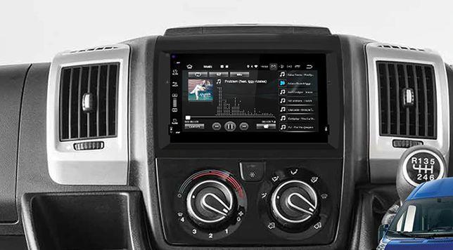 Radio FIAT ANDROID 9 / 2GB Ducato Jumper Boxer DVD GPS 2DIN PL 24H