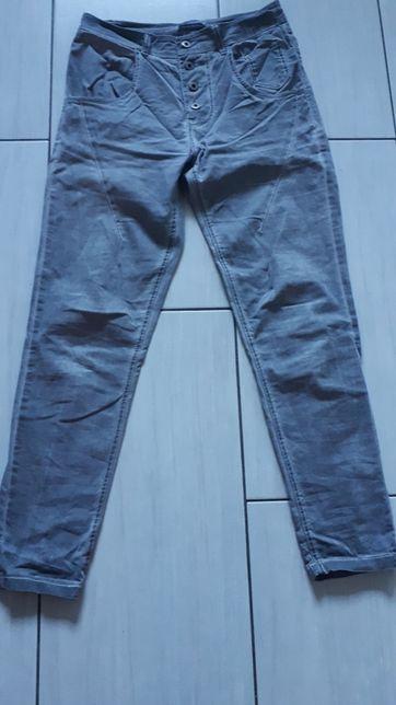 Spodnie jeansy szare,elastyczne