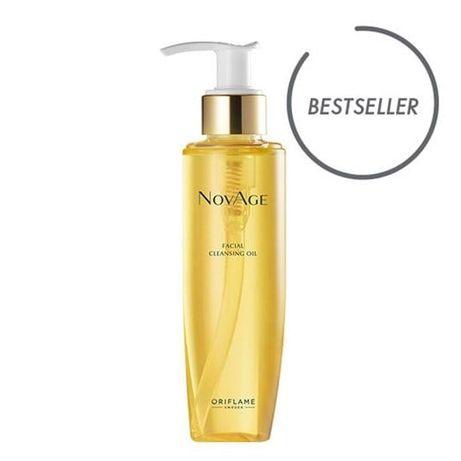 Oczyszczający olejek do twarzy NovAge Oriflame Nowe
