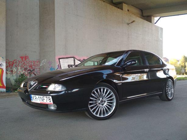 Alfa Romeo 166 2.4JTD nowe turbo i wtryski, skóra, ksenon, brembo