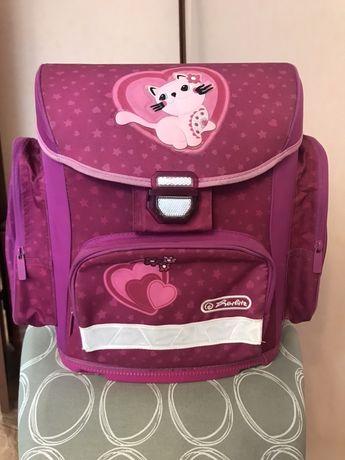 Школьный ортопедический ранец рюкзак Herlitz