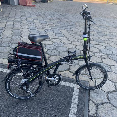 Sprzedam rower elektryczny, skladany! Stan - bardzo dobry
