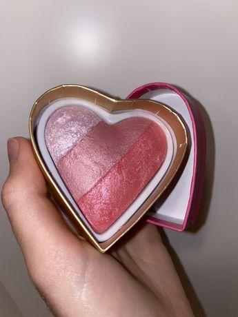 Хайлайтер-рум'яна Blushing Hearts