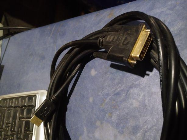 Шнур кабель HDMI и DVI