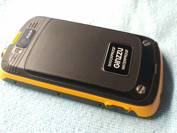 Срочно! Ginzzu r9 Dual, противоударный, водонепроницаемый смартфон
