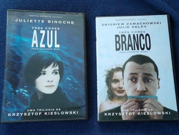 Filmes Três Cores Branco e Azul - Krzysztof Kieślowski