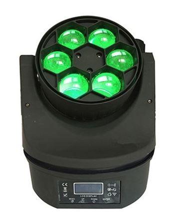 Светодиодная Led голова New Light PL-89 Mini BeeEye новые