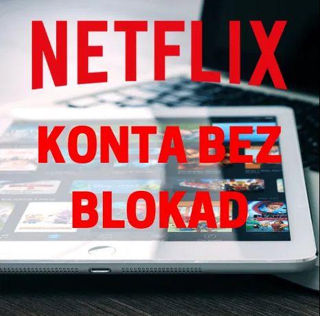 Netflix bez blokad / Działa na TV /Super jakość!