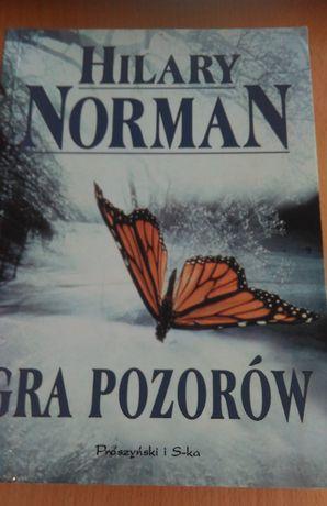 Gra pozorów Hilary Norman-książka