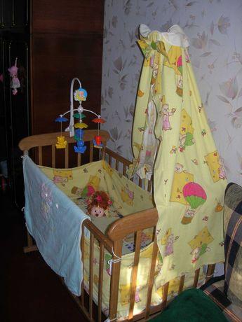 Балдахин с держателем на детскую кроватку.