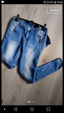 Nowe spodnie jeansy dżinsy moodo M