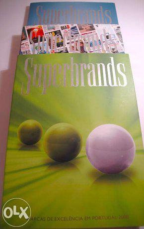 3 Livros SuperBrands - Anuários