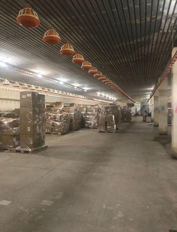 Magazyny/Hale przemysłowe do wynajęcia 1,500m2 i 1,600m2, 6km od W-wia