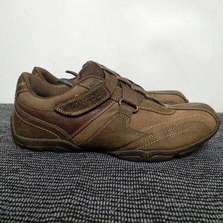 Мужские кожаные кроссовки kangol размер 42
