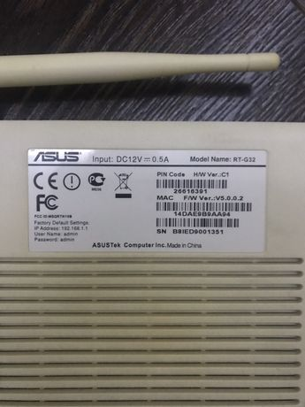 ASUS Wireless Router RT-G32
