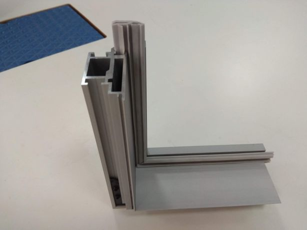 Профиль алюминиевый дверной коробки BLD-4006 (для скрытых дверей)