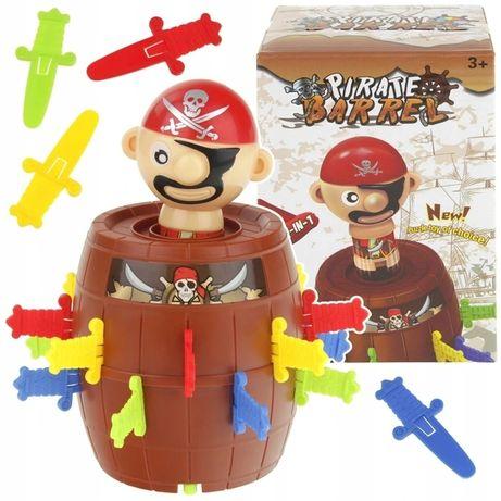 Gra Zręcznościowa Szalony Pirat W Beczce Beczka Pirata