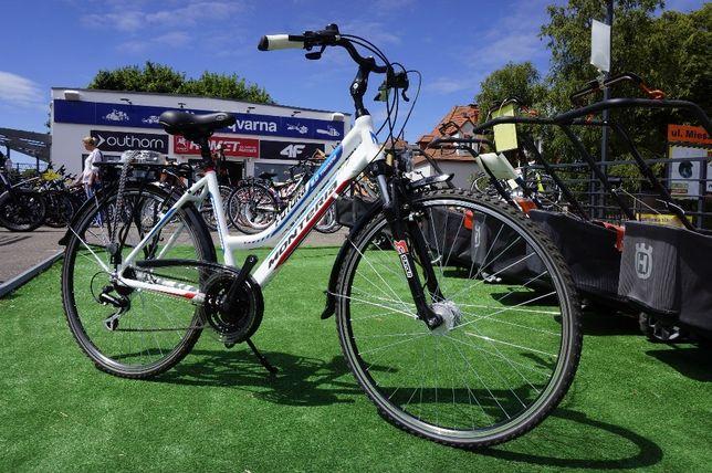 41,90 rower turystyczny FURTURA 2.0 dynamo shimano ACERA RATY 0%