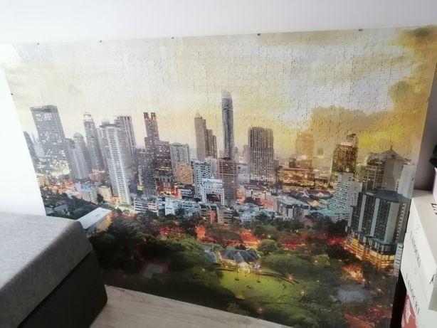 Obraz, puzzle, antyrama duża