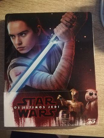 Star wars the last jedi steelbook bluray pt 2d e 3d