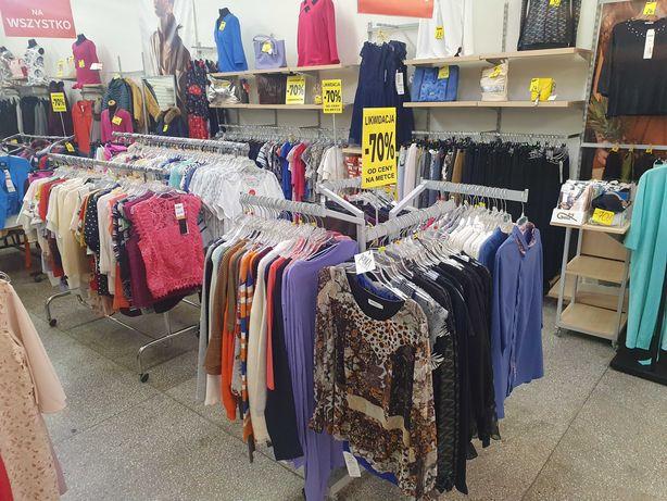 Likwidacja sklepu z odzieżą - 2000 sztuk za ułamek wartości