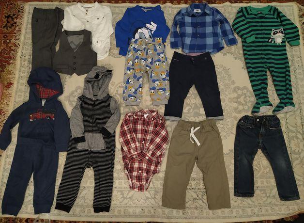 Продам пакет вещей на мальчика 1,5-2 года