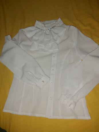 Блузка 140 .р Блуза біла шкільна