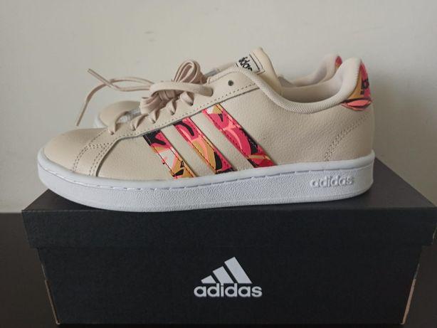 Sneakersy damskie Adidas GRAND COURT rozm. 38