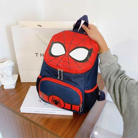 Детский дошкольный рюкзак человек паук в садик на мальчика 3-4-5-6 лет