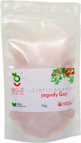 Polskie Liofilizowane Jagody Goji 50 g, bez cukru