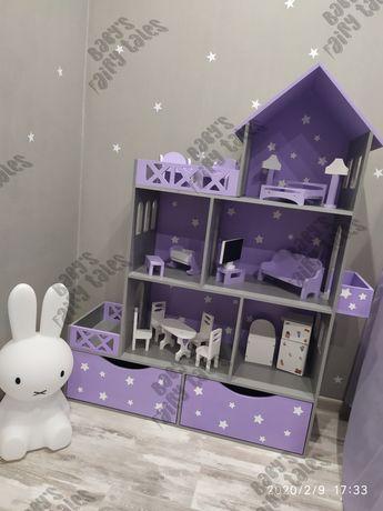 АКЦИЯ! Кукольный домик Lok, monster hight, Barbie