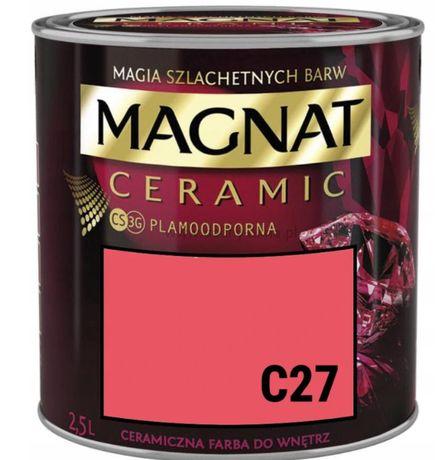 farba magnat ceramic 2,5l (różne kolory) promocja