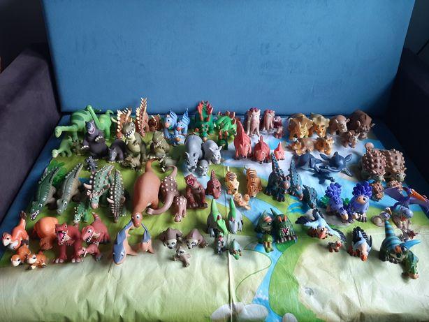Kompletny zestaw Dinozaury i Przyjaciele Hachette