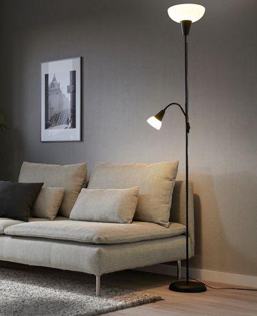 TÅGARP  Торшер / лампа для чтения, черный. В наличии.