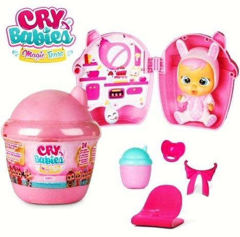 Набор куколка в бутылке, плачущий пупсик. Cry Babies Magic Tears