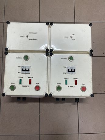 Szafa sterownicza SPA1-3,3D na dwie pompy