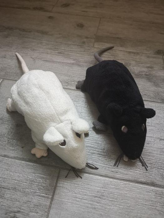 Ikea zestaw szczurów biały +czarny pluszaki Brodnica - image 1