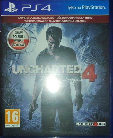Gra PS4 Uncharted 4: Kres Złodzieja PL