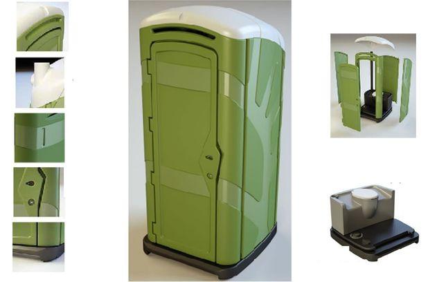 Toaleta przenośna - Lisbona (wersja do złożenia)