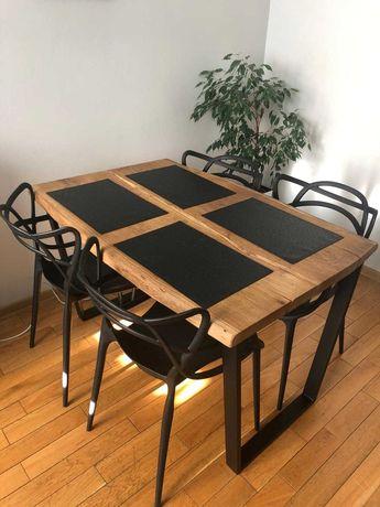Stół industrialny Loft dębowy