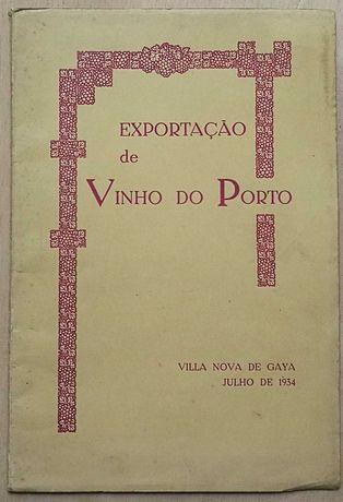 exportação de vinho do porto, villa nova de gaya, 1934