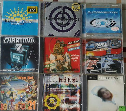 Płyty CD muzyka.